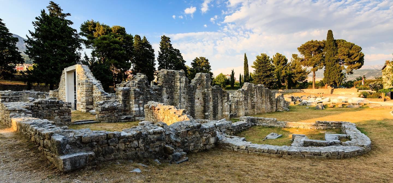 Ruine d'une église - Salona - Croatie