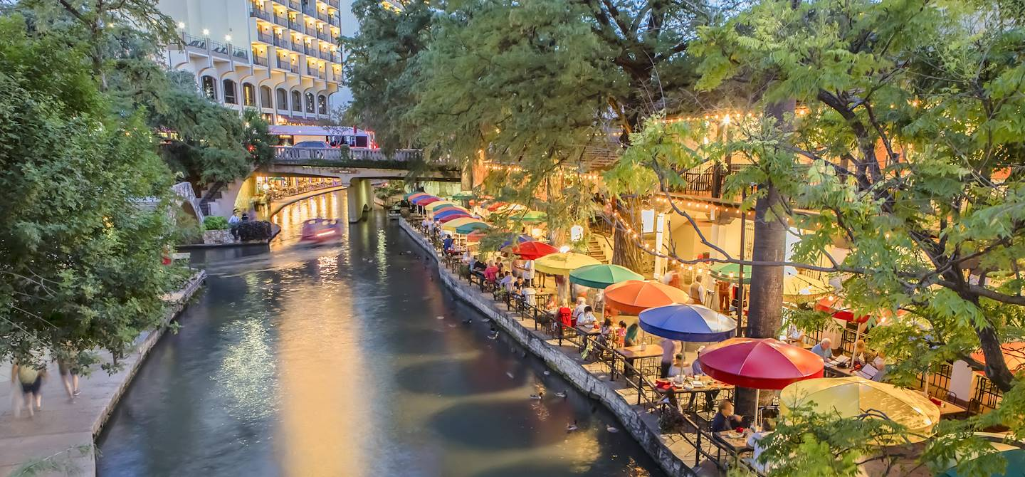 River Walk à San Antonio - Texas - Etats-Unis
