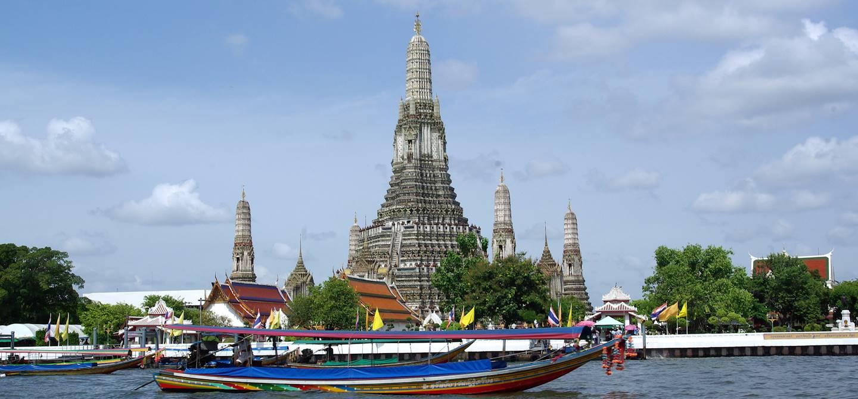 Fleuve Chao Phraya - Bangkok - Thaïlande