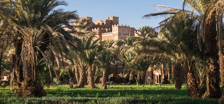 Château et palmeraie à Agdz - Maroc