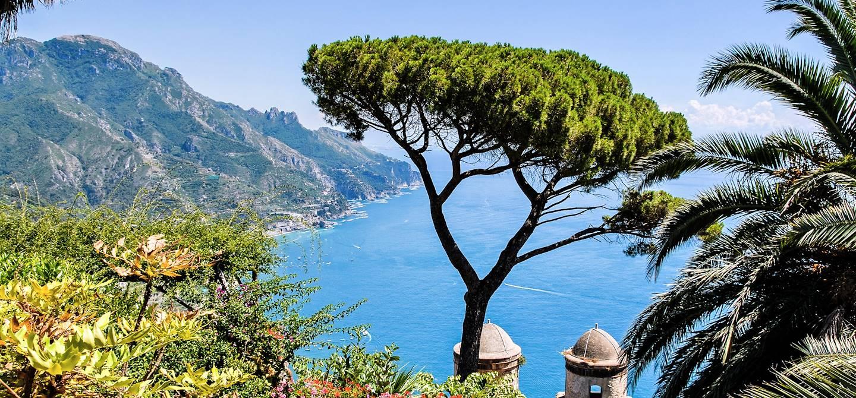 Côte Amalfitaine vue de Ravello - Campanie - Italie