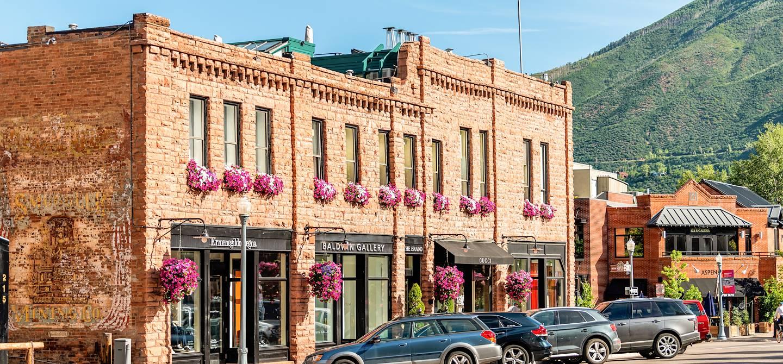 Centre ville - Aspen - Colorado - Etats-Unis