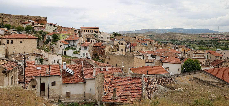 Vieilles maisons à Avanos - Région de l'Anatolie - Turquie