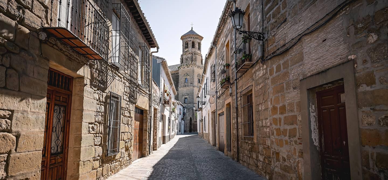 Dans les rues de Baeza - Andalousie - Espagne