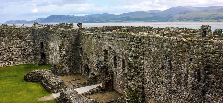Château de Beaumaris - île d'Anglesey - Pays de Galles - Royaume-Uni