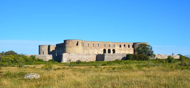 Ruines du château de Borgholm - île d'Öland - Suède