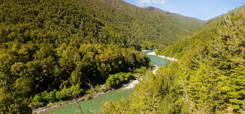 Rivière Buller - île du Sud - Nouvelle-Zélande