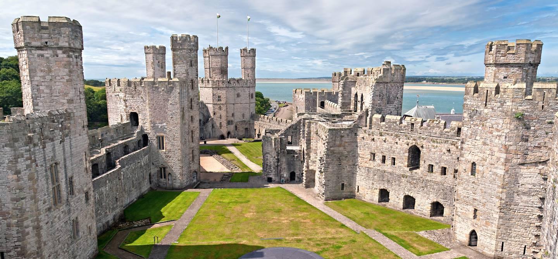 Château de Caernarfon - Gwynedd - Pays de Galles