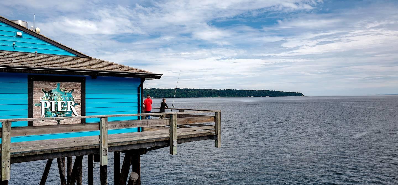 Ville de Campbell River - Île de Vancouver - Canada