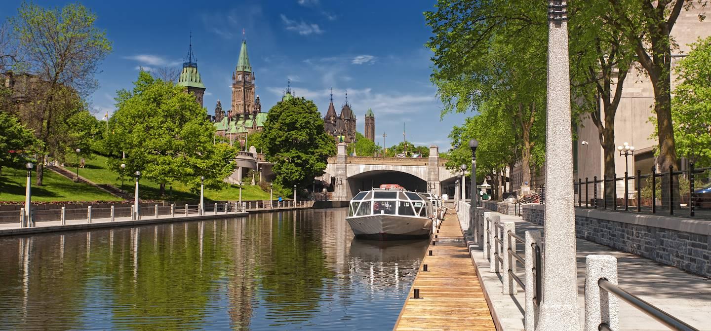 Canal Rideau - Ottawa - Ontario - Canada