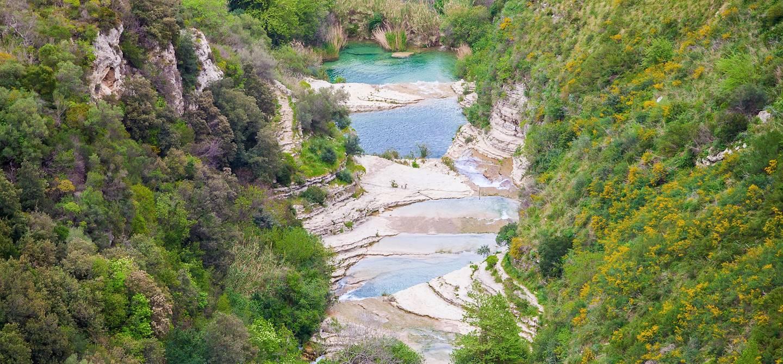 Cascade de Cavagrande - Cassibile - Sicile - Italie