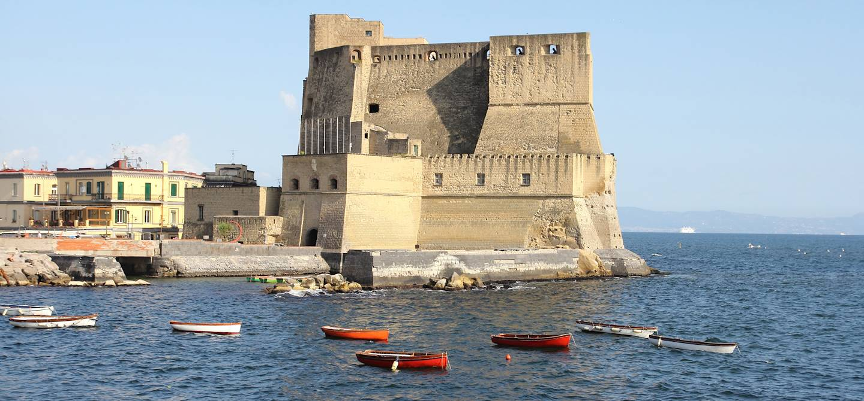 Castel dell'Ovo - îlot de Mégaride - Naples - Campanie - Italie