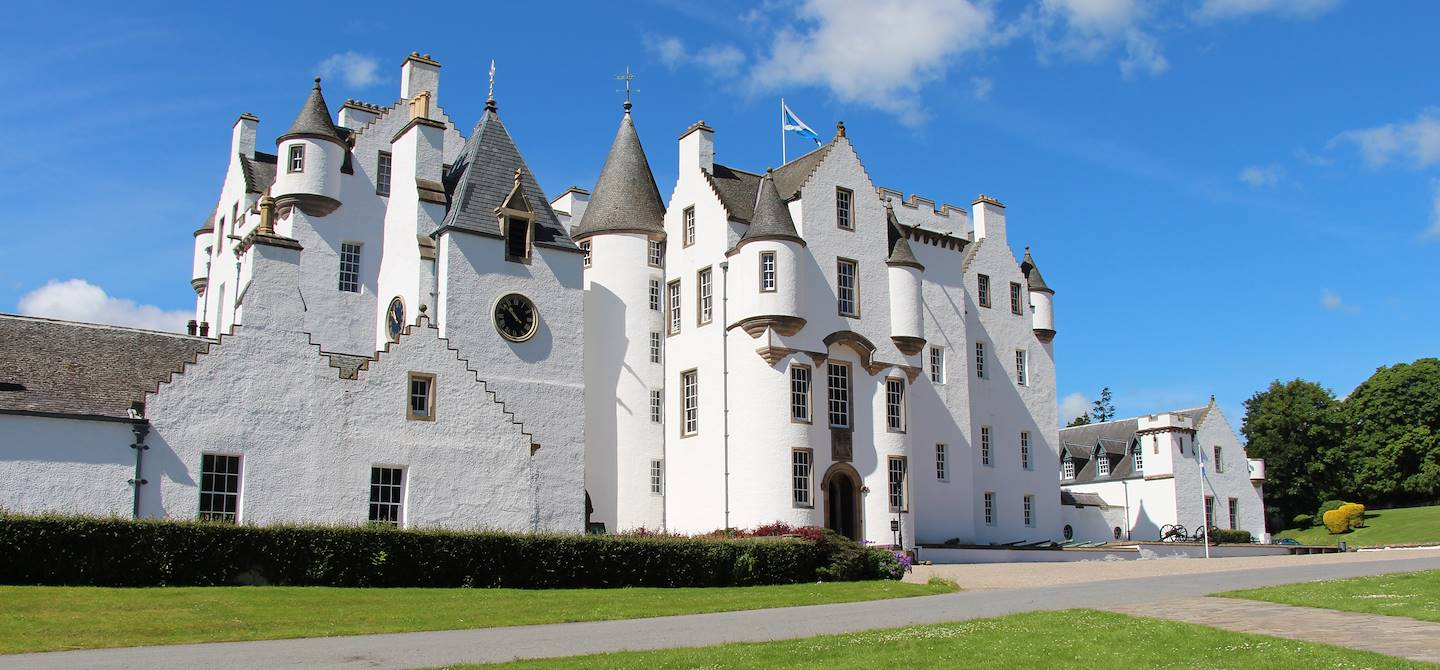 Blair Castle - Blair Atholl - Ecosse - Royaume-Uni