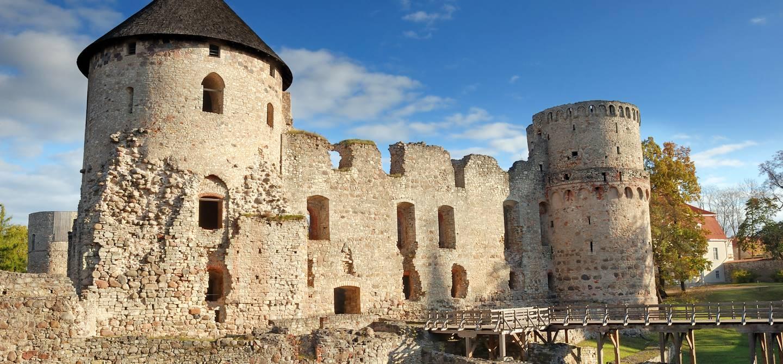 Le château de Cēsis - Lettonie