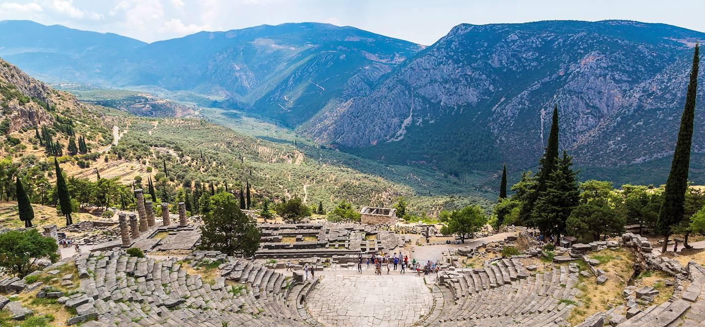 Site archéologique de Delphes - Grèce