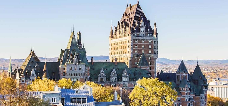 Le château Frontenac - Québec (ville) - Québec - Canada