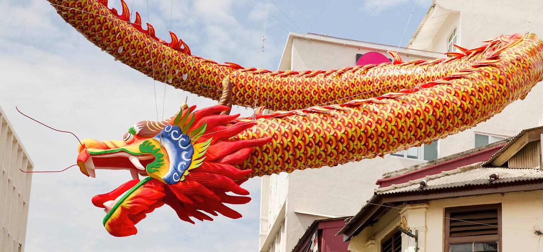 Chinatown de Malacca - Etat de Malacca - Malaisie
