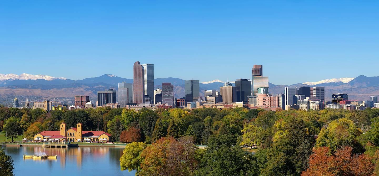 Panorama sur la ville - Denver - États-Unis