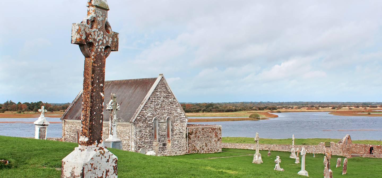 Monastère de Clonmacnoise - Comté d'Offaly - Irlande