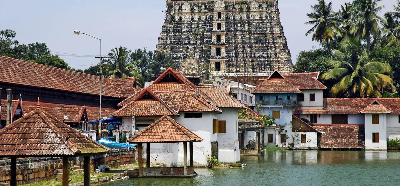 Temple Sri Padmanabhaswamy - Trivandrum - Côte de Malabar - Inde