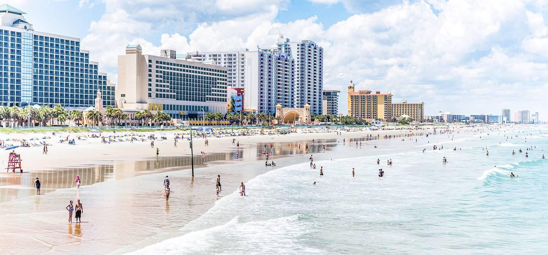 La plage - Daytona Beach - Floride - Etats-Unis