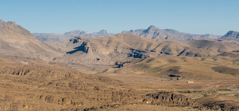 Trekking dans la région du Djebel Saghro dans le haut Atlas - Maroc
