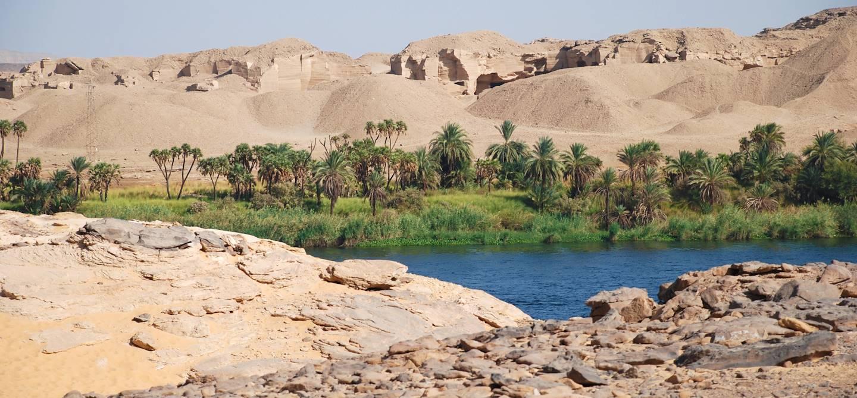 Gebel Silsileh - Edfou - Egypte