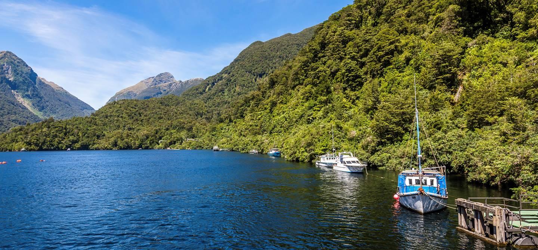 Doubtful Sound - Parc national de Fiordland - île du Sud - Nouvelle-Zélande