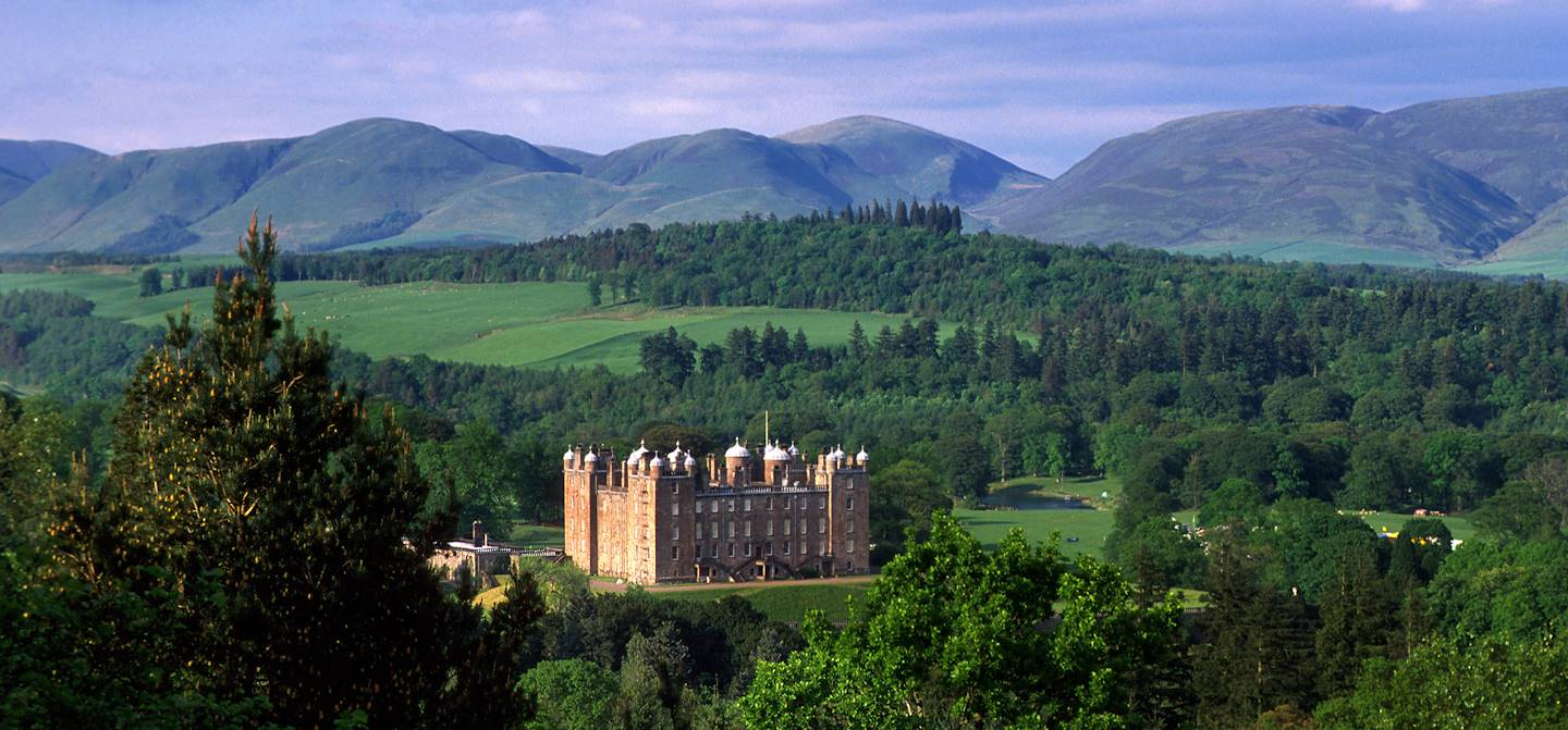 Drumlanrig castle - Région de Galloway - Ecosse - Royaume Uni