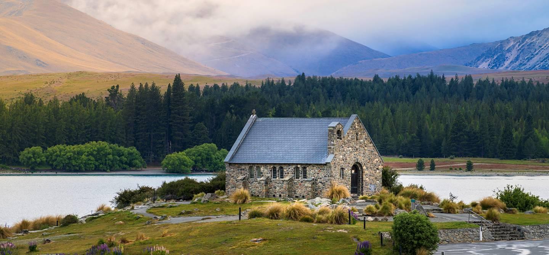 Église du Bon Berger - Tekapo - île du Sud - Nouvelle-Zélande