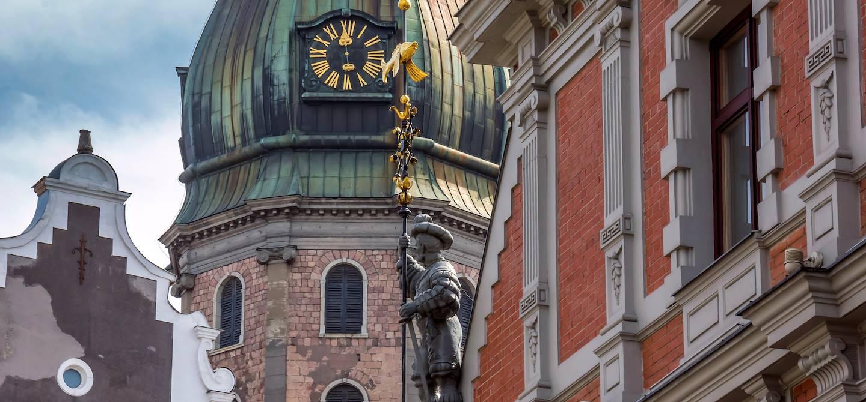 Église Saint-Pierre - Riga - Lettonie