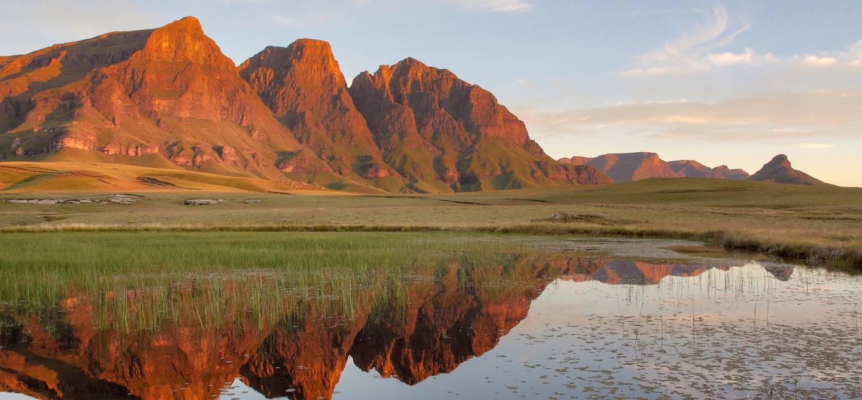 Maloti Mountains -  Drakensberg - Afrique du Sud