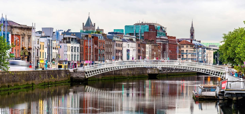 Ha'penny Bridge - Dublin - Irlande
