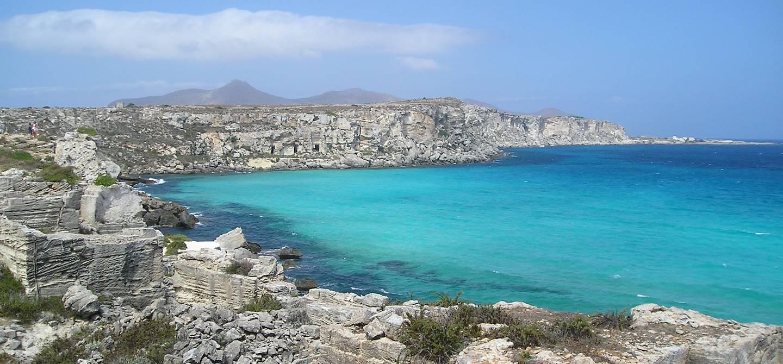 Cala Rossa - îles Egades
