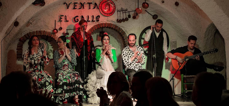 Spectacle de flamenco à Grenade - Andalousie - Espagne