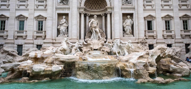 Fontaine de Trevi - Rome - Italie