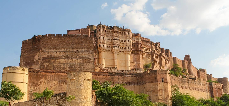 Le fort de Mehrangarh - Jodhpur - Inde
