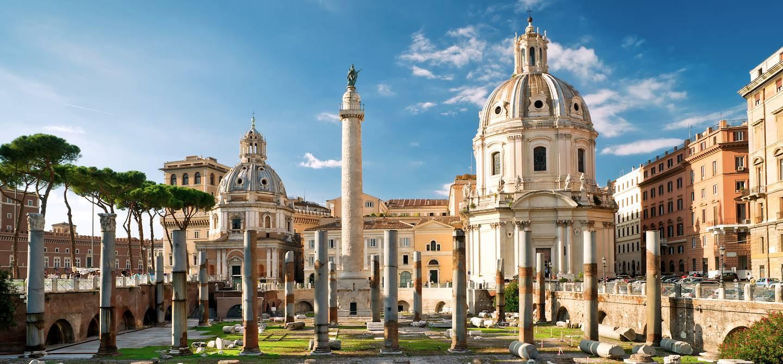 Forum Trajan - Rome - Latium - Italie