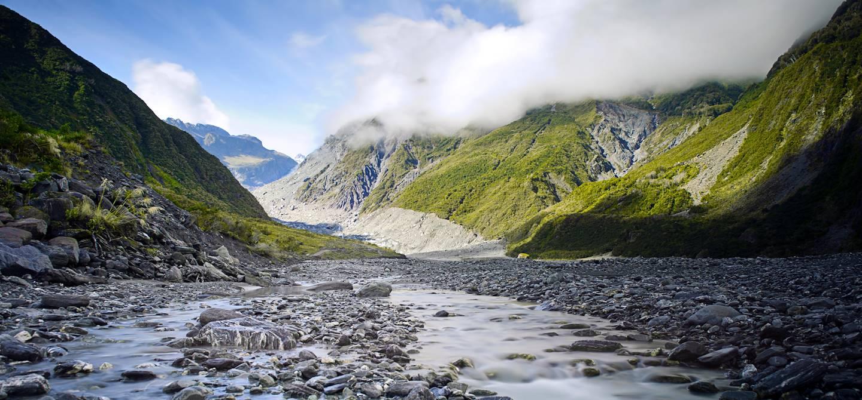 Franz Josef - Parc national de Westland Tai Poutini - île du Sud - Nouvelle-Zélande