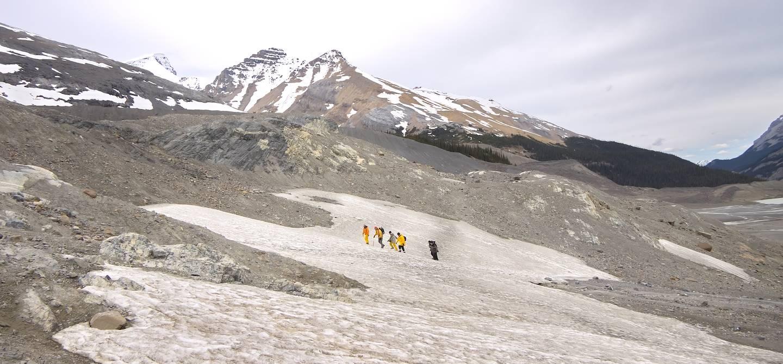 Marche sur le glacier Athabasca - Banff National Park - Canada