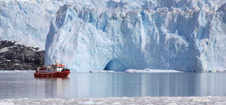 Croisière au pied du glacier Eqi - Groenland