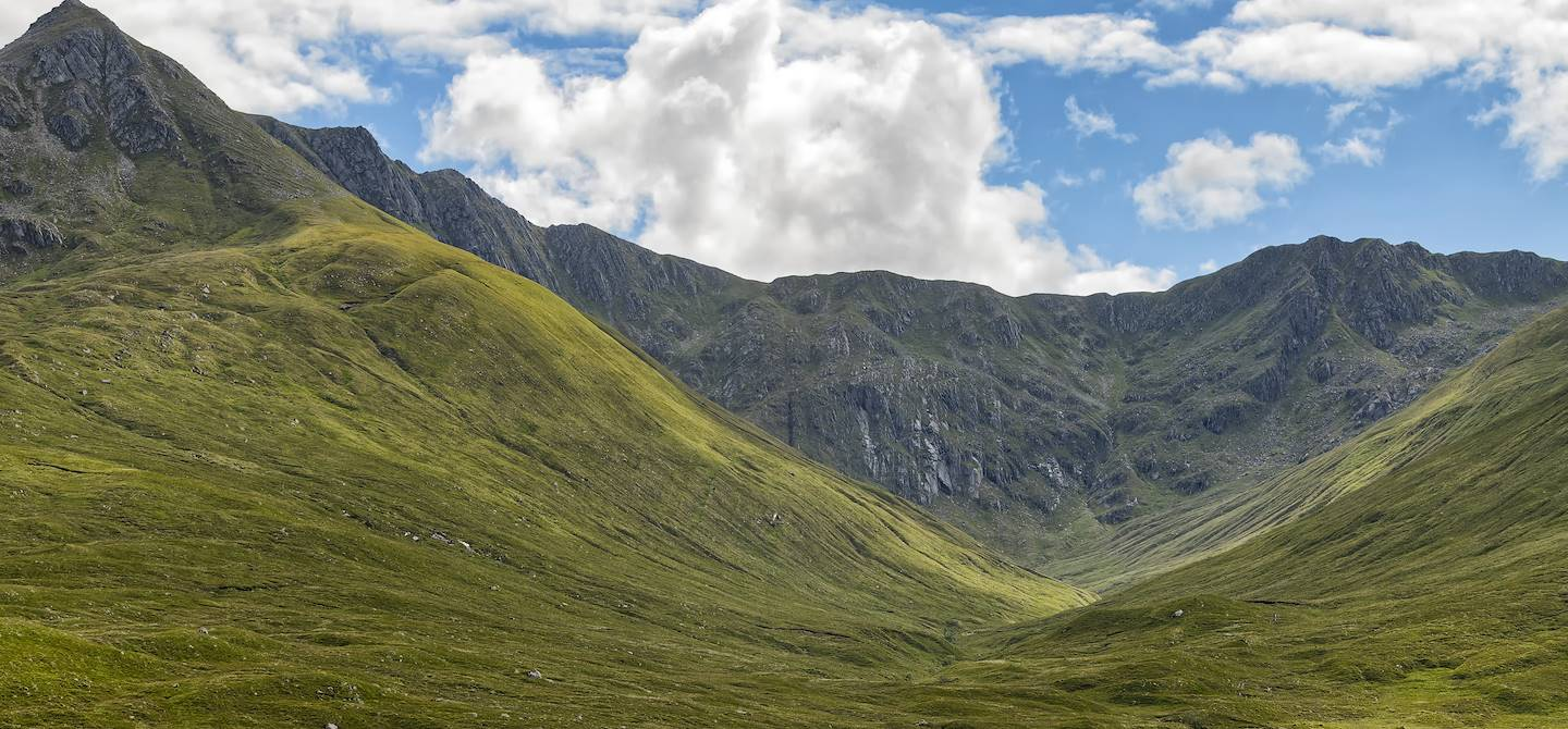 Glen Shiel - Highlands - Ecosse - Royaume-Uni