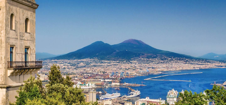 Vue sur Naples - Région de Campanie - Italie