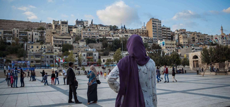 Découverte de la ville - Amman - Jordanie