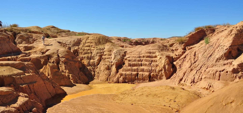 Mine de Saphir à Ilakaka près de Ihosy - Madagascar