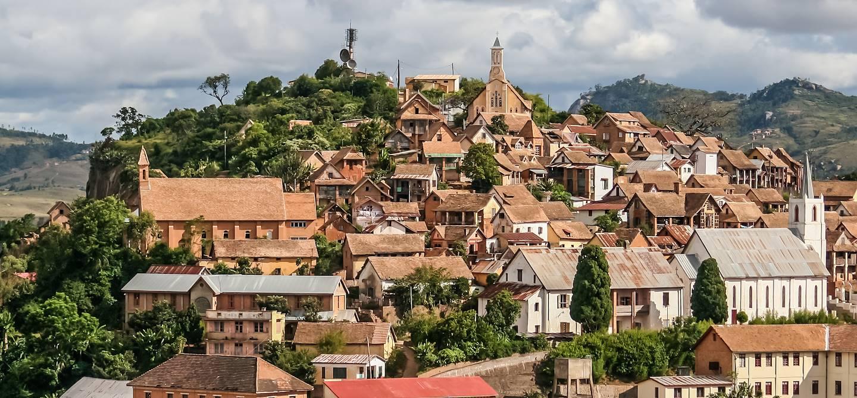 Vieille ville de Fianarantsoa - Madagascar
