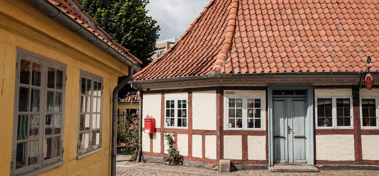 Maison à colombages à Odense - Danemark