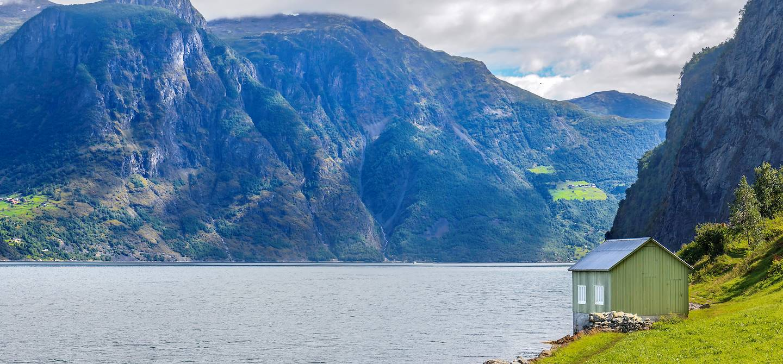 Petite cabane près Undredal - Norvège