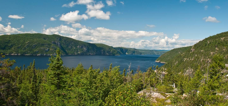 Le parc national du Fjord-du-Saguenay - Saguenay - Québec - Canada