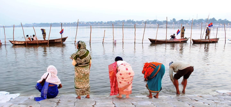 Sur les bords du Gange - Varasani - Uttar Pradesh - Inde